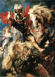 Paul Rubens St George Dragon Rubens