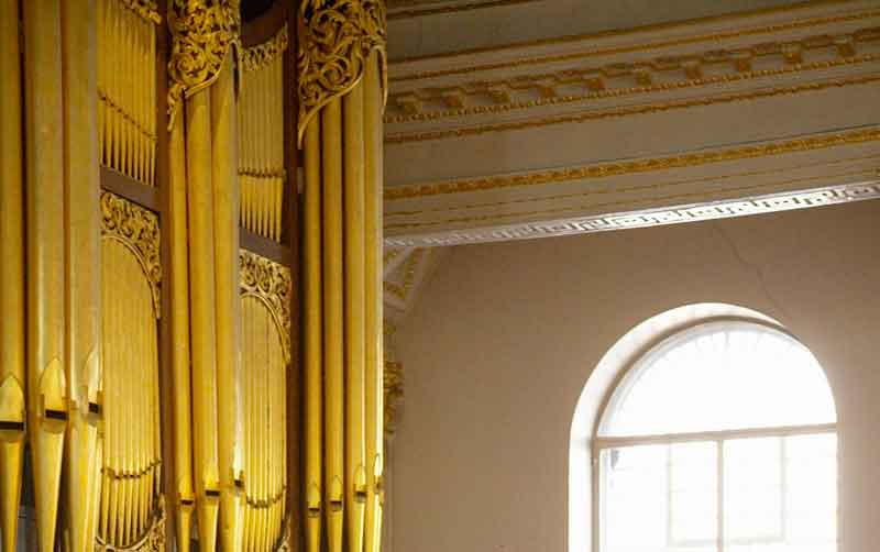 Donated money helped St George's Hanover Square church get a new organ 5